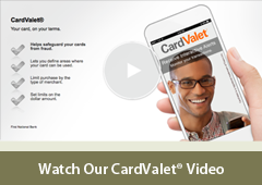 Personal Card Valet Video