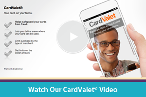 Interactive CardValet Video Player