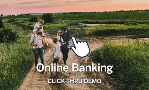 Online Banking Click-Thru Demo