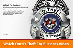 ID Theft Prevention for Business Video