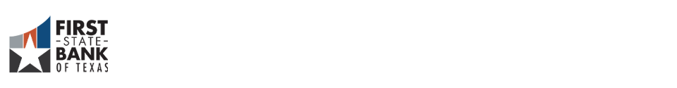 First State Bank of Texas Logo