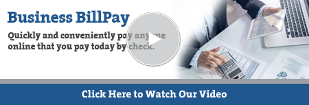 Business Bill Pay Video Tutorial