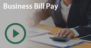Bill Pay for Business Interactive Video Player