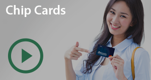 Chip Card Interactive Video Player
