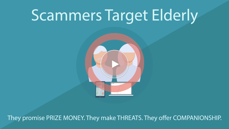 Be Alert For Scams Targeting The Elderly