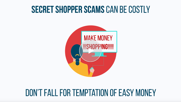Secret Shopper Scams Can Leave You Holding The Bag