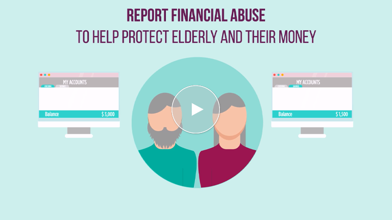 Reporting Suspected Financial Abuse Of The Elderly Is The Right Thing To Do