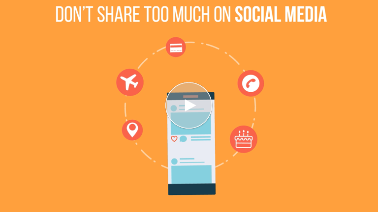 Don't Share Too Much On Social Media