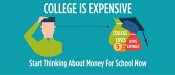 College Is Expensive. Start Thinking About Money For School Now.