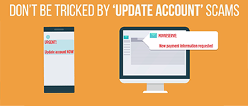 Be on The Alert For 'Update Account Information' Scams