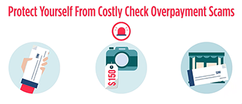 Protect Yourself From Costly Check Overpayment Scams