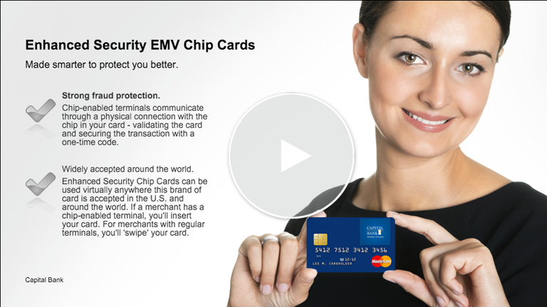 Enhanced Security EMV Chip Cards