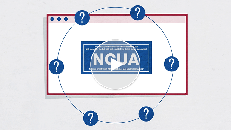NCUA Insurance Protects Your Money Deposits