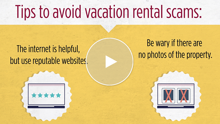 Be Careful When Looking For A Vacation Rental